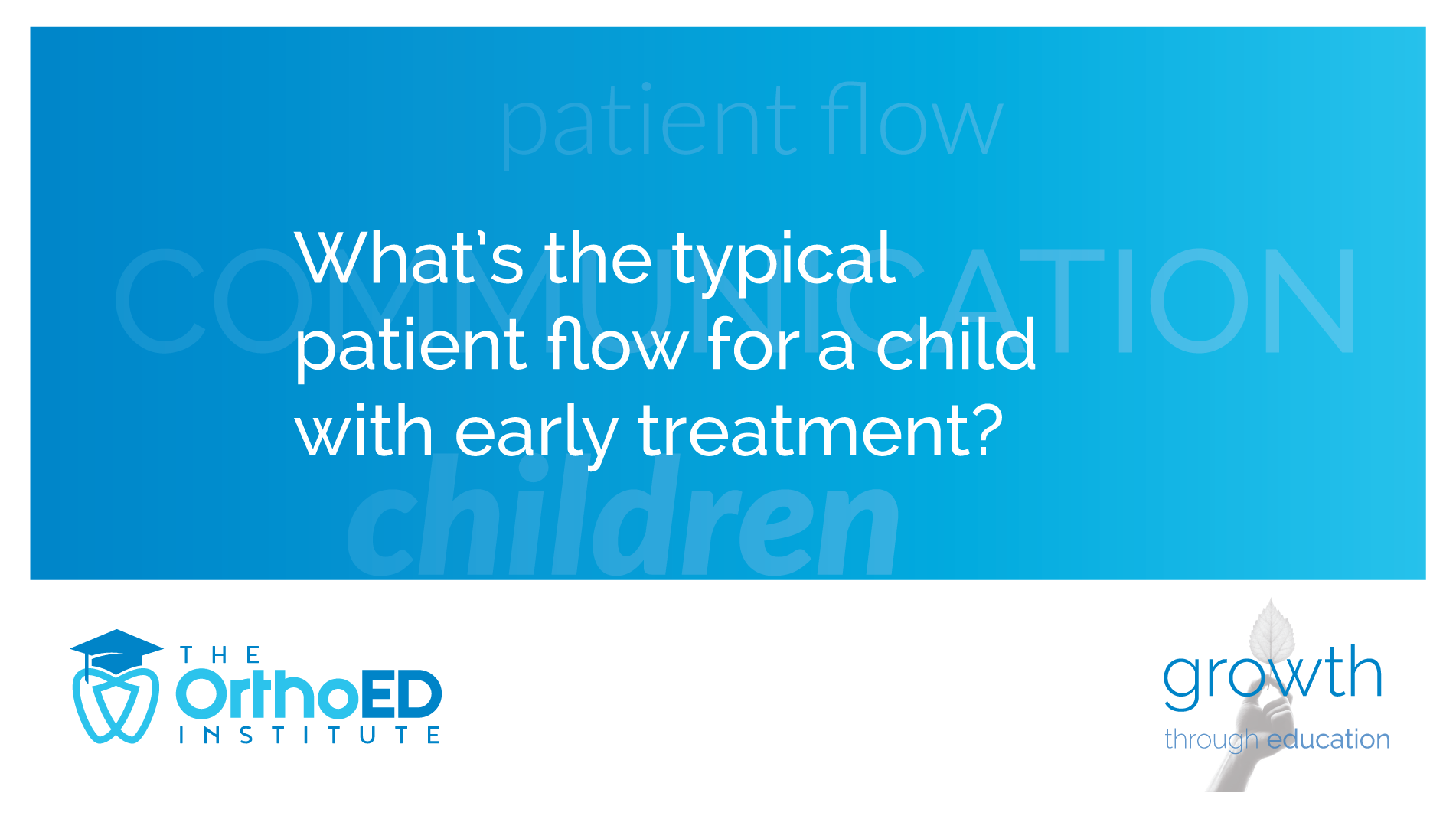 child patient flow