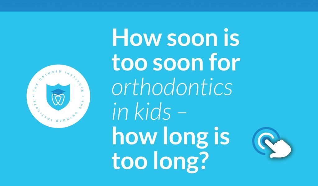 Orthotraining orthodontics in kids